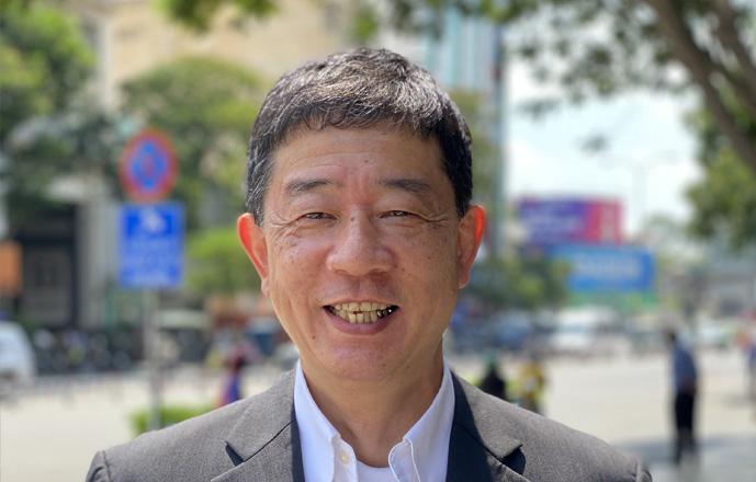 General Director Hiroyuki Yonezawa